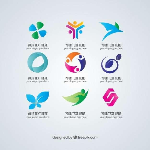 Elegant business logos