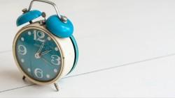 Wallpaper alarm clock
