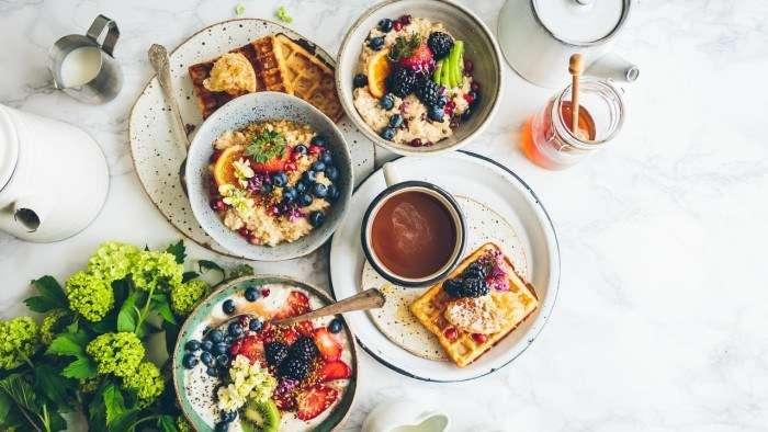 Wallpaper breakfast