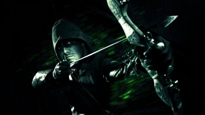 Wallpaper Green Arrow