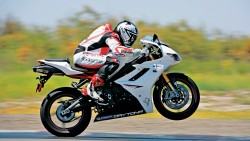 Wallpaper motorcyclist