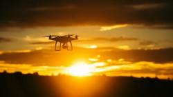 Wallpaper quadrocopter