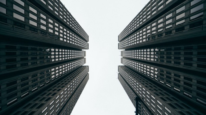 Wallpaper skyscrapers