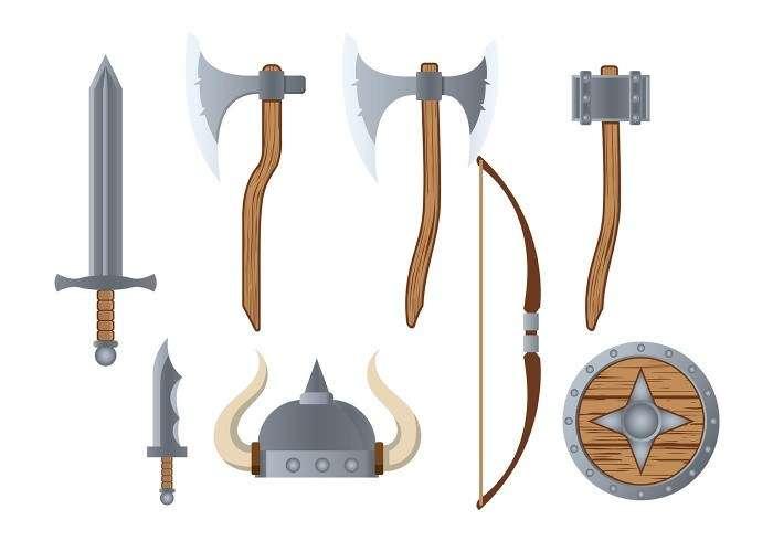 Barbarian Icon Vector