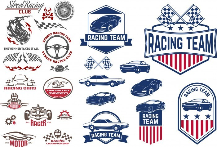 Car Decals Racing