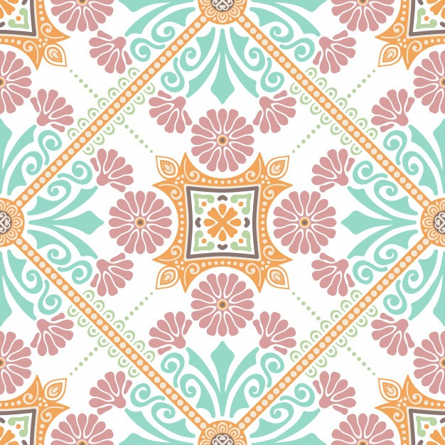 Decorative tile pattern design