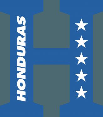 Honduras National Football Team & Association Football in Honduras Logo