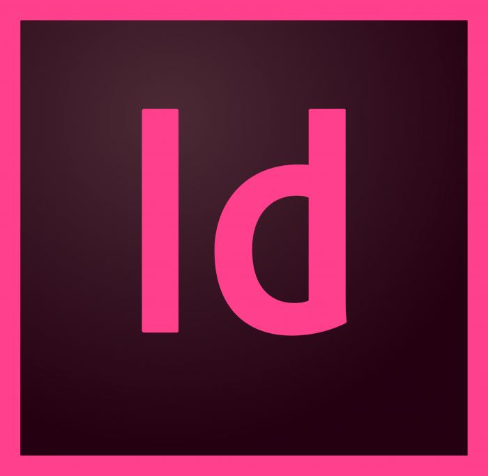 indesign logo (Adobe CC)