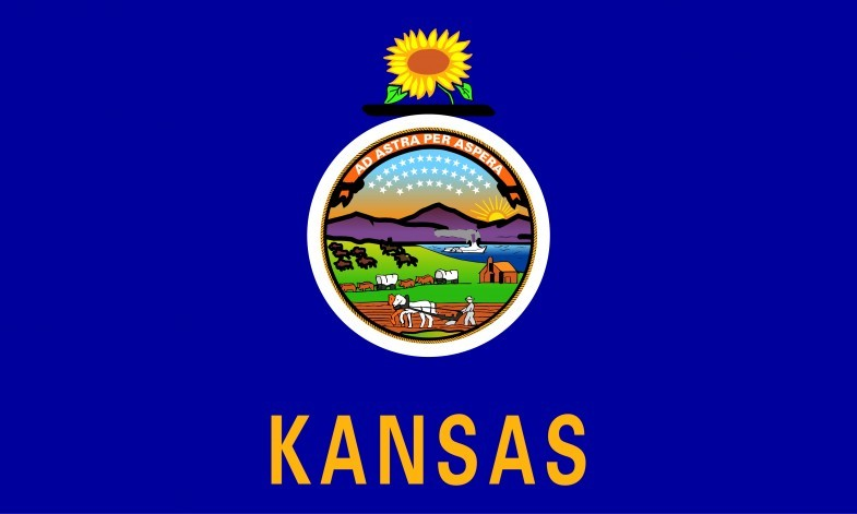 Kansas State Flag and Seal