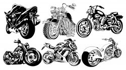 Motorcycle Club T-Shirt Design