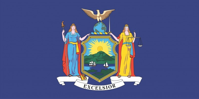 New York State Flag&Seal