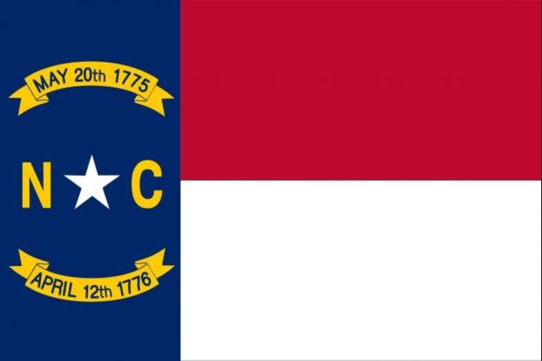 North Carolina State Flag and Seal