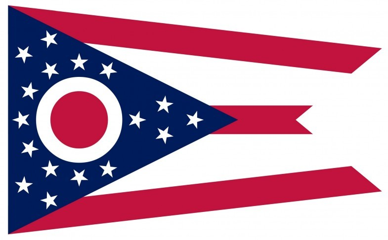 Ohio State Flag&Seal