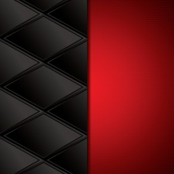 Black with red metal background vectors material 02
