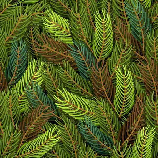 Christmas fir branches seamless pattern vector 01