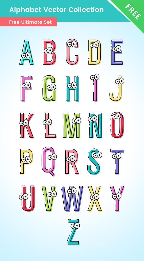 Alphabet Vector Set