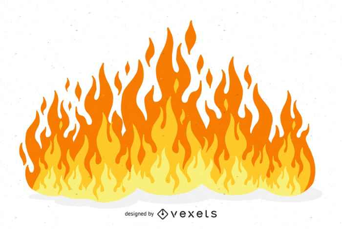 Beautiful Flame illustration