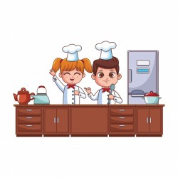 Chefs kids cartoon