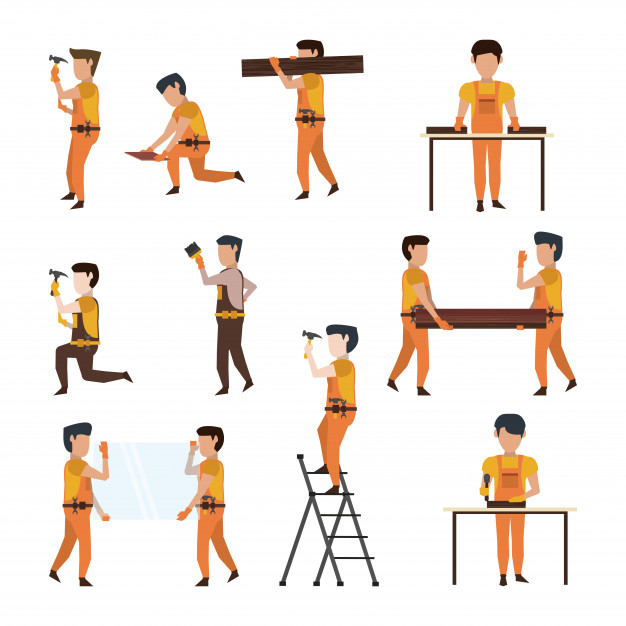 Construction workers avatar