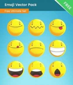 Emoji Vector Pack