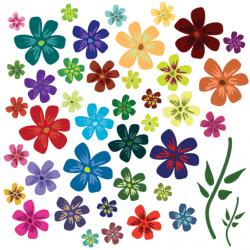 38 Free Vector Flowers