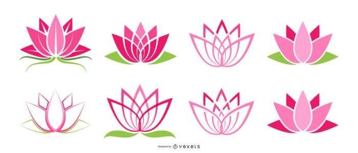 Lotus icons set