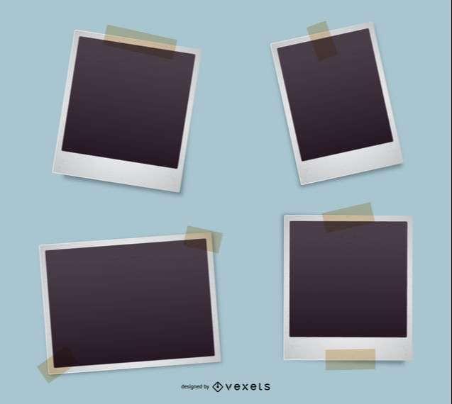 Polaroid frame set