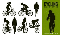 Silhouette Bicycle Pack