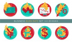 Business burn rate set