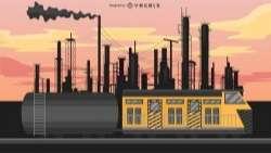 Carriage Train Illustration