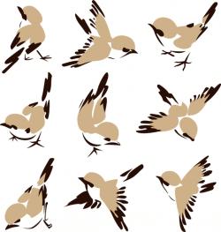 Chinese Painting Bird 01