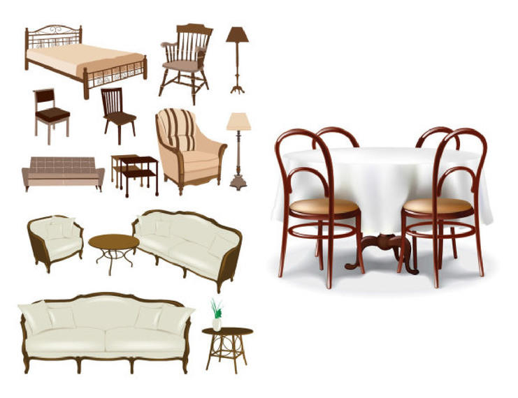 Classic & Decorative Furniture Pack