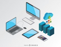 Computer isometric devices
