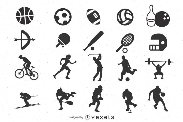 Flat Minimal Sports Icon Pack
