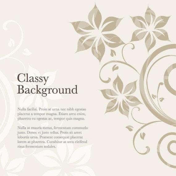 Floral Ornamented Card Design