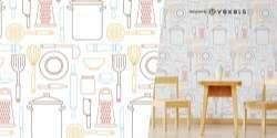 Kitchen Utensils Pattern