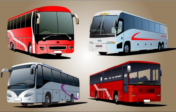 Luxury Bus Vector