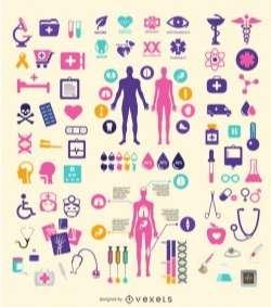 Medical element set