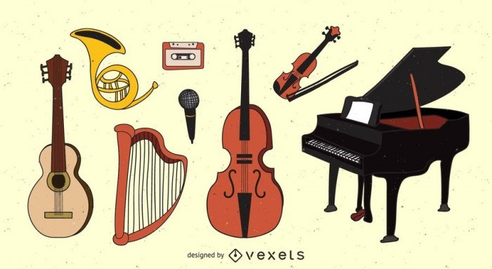 Musical Instruments Pack