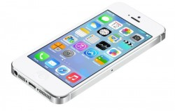 Realistic iPhone5 with UI of IOS7