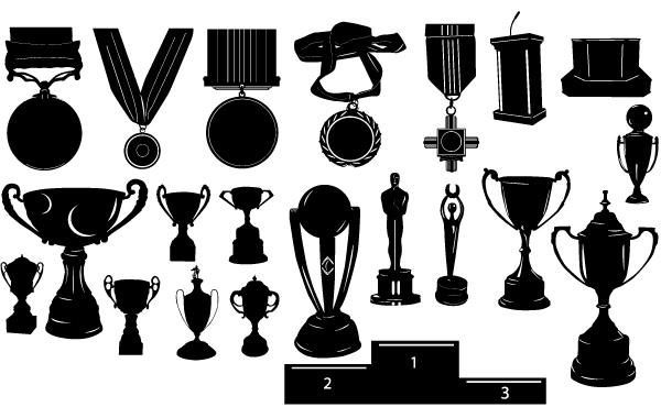 Silhouette Trophy Pack