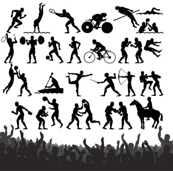 Sportsmen Pack Silhouettes