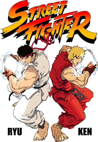 Street Fighter Vector Source Files