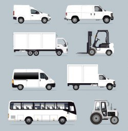 White Industrial Vehicles