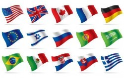 World National Flag Vectors
