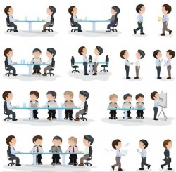 Business People Illustration vector