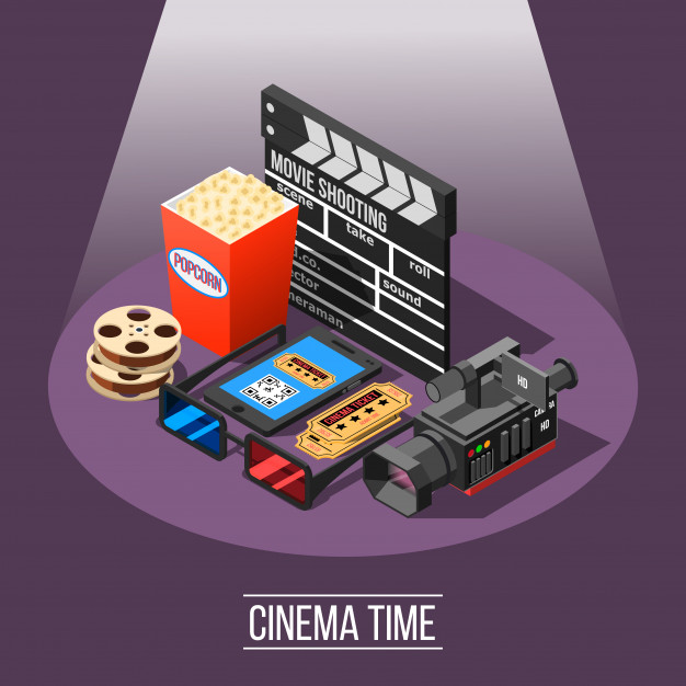 Cinema time background