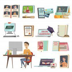 Online education elements