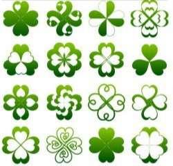 Green Elements design vecto
