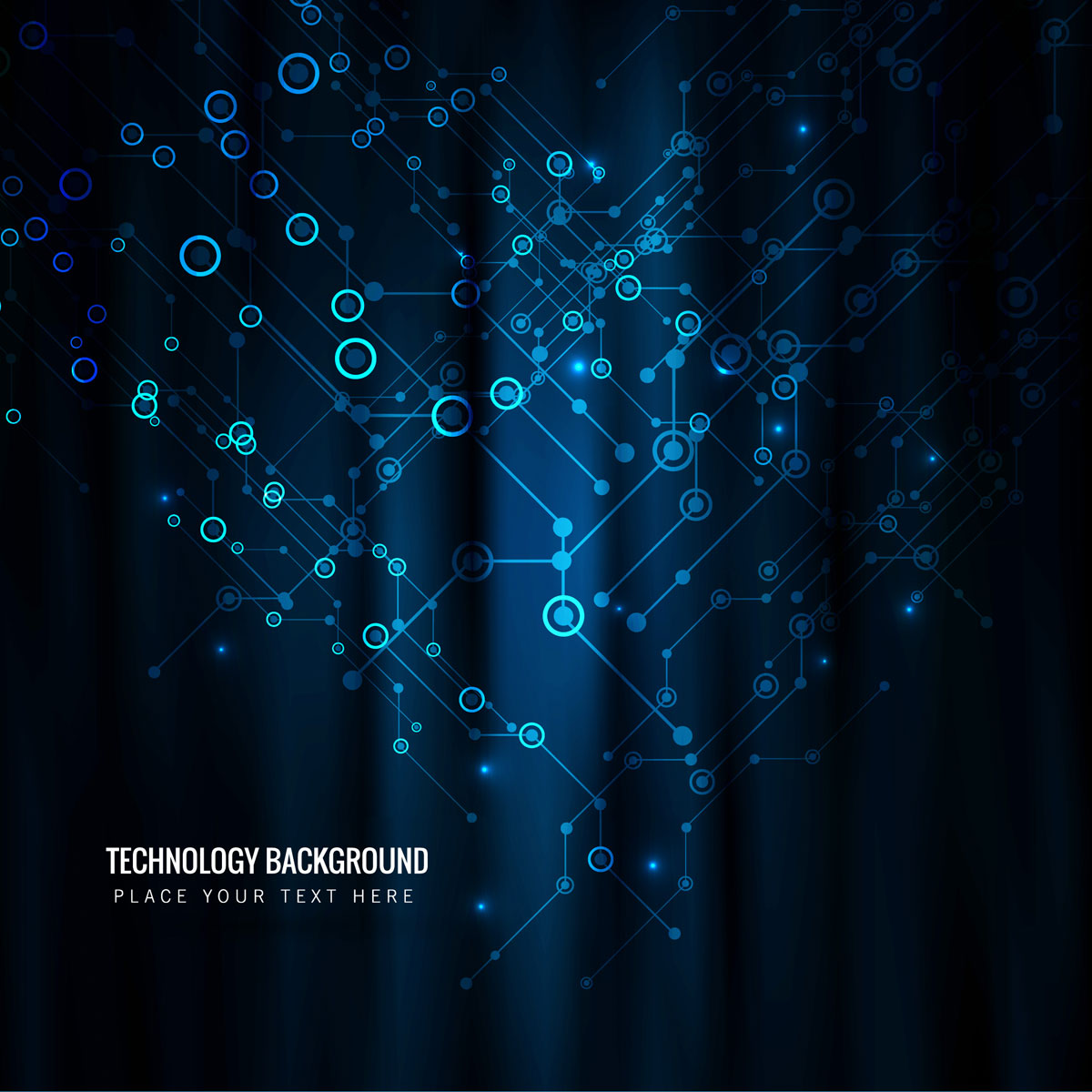 Abstract technology background design illustration